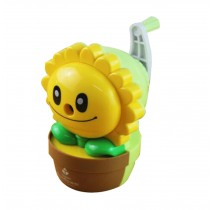Students Manual Pencil Sharpener Chainsaw Sharpener Sunflower (Random Color)
