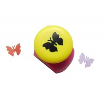 Set of 2 Practical Handwork Punch Paper Punch, Butterfly Design, Random Color