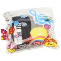 Set Of 5 Love Bagged Eraser Lovely Creative Eraser Cute Eraser