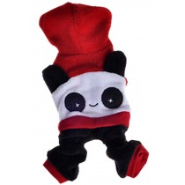 Fashion Pet Dog Warmth Clothes Chinese Style Panda Clothes Winter Dress Panda