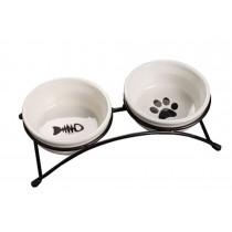 Pet Feeding Supplies Ceramic Water Bowls/Raised Bowls/Cat or Dog Food Bowl(#13)