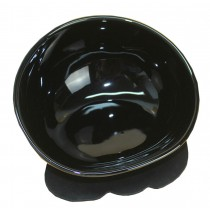 Safe Stoneware Anit-Slip Feeding Bowl/Pet Dog Cat Raised Food Bowls(Black)