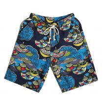 Men's Beach Shorts Seaside Folk Custom Style Board Shorts