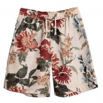 Summer Men's Beach Shorts Seaside Printing Board Shorts