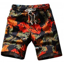 Unique Men's Beach Shorts Outdoor Leisure Board Shorts Summer Swim Trunk