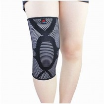 Sports Kneepads Elastic Knee Braces Sleeve Knee Support, M, 1 pcs, Black