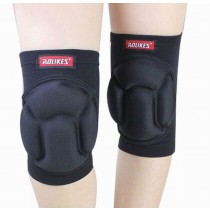 Sports Kneepads Sponge Knee Braces Knee Support, Free Size, Black