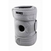 Sports Kneepads Knee Braces Knee Support with Spring, Free Size, Gray