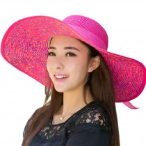 [Rose] Sun Hat Wide Brim Hat Women Hat for Summer Use