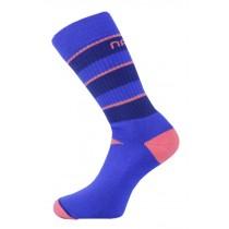 [Violet] Breathable Lightweight Football Game Sock Soccer Sock Men's Elite Sock