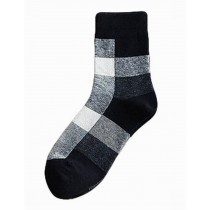 [Three Pairs] Breathable Tube Male Socks Cotton Odor-proof Mens Socks
