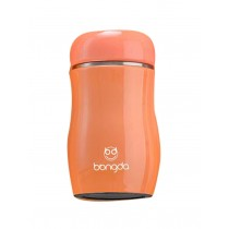 Vacuum Cup Creative Lovely Cup Children Water Bottle Stainless Steel Orange