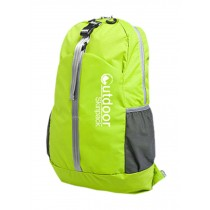 Water Resistant Foldable Backpacks Ultra Lightweight Travel Backpack Green 20L