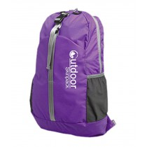 Water Resistant Foldable Backpacks Ultra Lightweight Travel Backpack Purple 20L