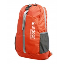 Water Resistant Foldable Backpacks Ultra Lightweight Travel Backpack Orange 20L