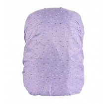 Water-proof Dust-proof Backpack Cover Rucksack Rain/Snow Cover Purple