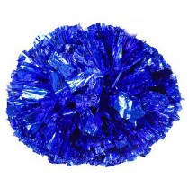 Set of 2 Cheerleaders Pom Poms Hand Flower Aerobics Ball Dance Props Games Blue