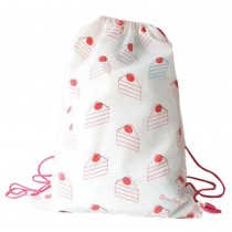 Waterproof Drawstring Backpack Couple Drawstring Tote Shopping Pouch
