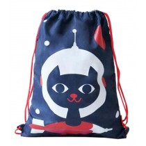 Lovely Sport Pouch Drawstring Backpack Pouch Shopping Bag