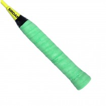 Set of 2 PU Non-Slip Overgrip for Tennis and Badminton Racket Bike Bar, Green