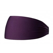 Workout Yoga Travel Headband For Sports Or Fashion Super Comfortable Purple