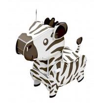 [Zebra] Paper Architecture Building Model 3D Puzzle Educational Toy