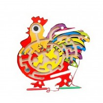 Funny Kids Circle Bead Maze Educational Parent-Child Toy With Magnetic Pen Chick