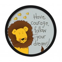 [Lion] Decorative Painting Framed Painting Wall Decor Kids Creative Picture