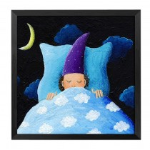 [Quiet] Decorative Painting Framed Painting Wall Decor Kids Creative Picture