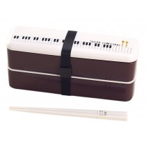[Piano] Multifunctional Double Layer Bento/Lunch Box/Container
