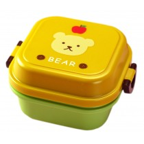 Bear Multifunctional Kid's Bento/Lunch Box/Container for Fruit/Salad/Snack