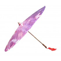 [Butterfly Love] Rainproof Handmade Chinese Oil Paper Umbrella 33 inches