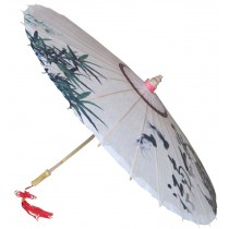 [The Locals] Rainproof Handmade Chinese Oil Paper Umbrella 33 inches