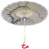 [Hand-painted Aroma] Rainproof Handmade Chinese Oil Paper Umbrella 33 inches