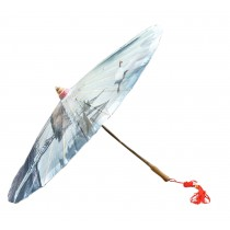 [Decent Landscape] Rainproof Handmade Chinese Oil Paper Umbrella 33 inches