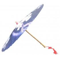 [Hibiscus] Rainproof Handmade Chinese Oil Paper Umbrella 33 inches