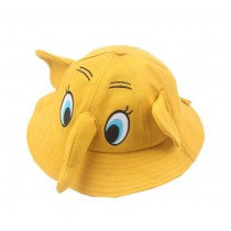 Boys Girls Summer Sun Protection Hat Toddler Cute Elephant Shape Cap, Yellow