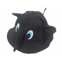 Boys Girls Summer Sun Protection Hat Toddler Cute Elephant Shape Cap, Black
