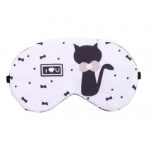 Lovely Cat Pattern Eye Mask Personalized Eyeshade Sleep Eye Masks