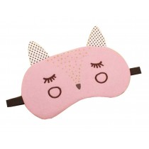 Lovely Cartoon Style Sleeping Eye Mask Personalized Eyeshade,Pink