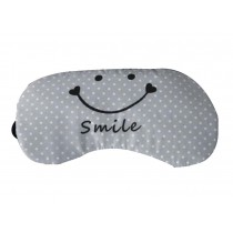 Lovely Cotton Eye Mask Sleeping Eyeshade Patch Breathable Lightweight,Grey
