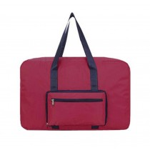 Durable Elegant Makeup Bag Portable Luggage Bag Travel Bag, Red 31L