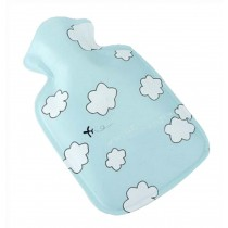 Mini Lovely Children Hot Water Bottle/Small Hand Warmer 100 ML, Blue Sky