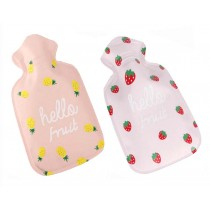 Set of 2 Lovely Mini Hot Water Bottle/Hand Warmer, Light and Handy, 100 ML