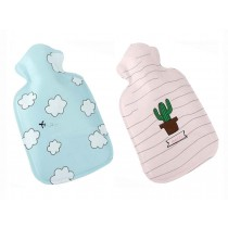 Set of 2 Lovely Mini Light and Handy Hot Water Bottle/ Hand Warmer, 100 ML