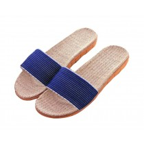 Summer Indoor Soft Bottom Anti-skid Four Seasons Linen Slippers Male