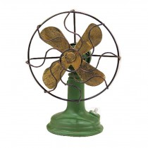 Classic Retro Style Objects Models Home Decorations Ornaments (The Old Fan)