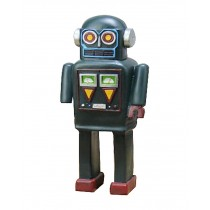 Creative Retro Robot Models Retro Ornaments Simulation Antiquities Collections