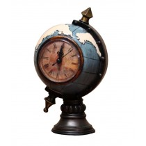 Nostalgic style Retro Models Antiquities Collections Ornaments (Clock Globe)