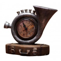 Classic Nostalgic style Sculpture Retro Model Antiquities Collections (Horn)